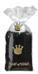 caddy towel met opdruk king of golf