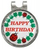 hatclip magnetisch/ marker happy birthday