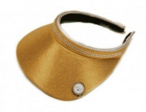 Visor - Gold Bling, GloveIt