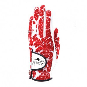 Glove It Glove, Ruby Damask, Maat L