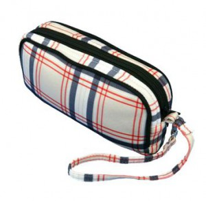 Accessory Bag, GloveIt, Scottie Plaid