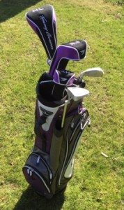 Golfset - dames - Tommy Armour - full set (paars)