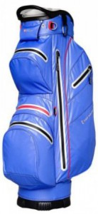 Cart bag, soft shell, water repellent, blauw