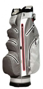 Cart bag, hard shell, water repellent, grijs
