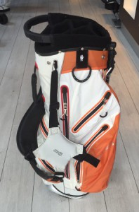 Stand bag / Hybrid carry bag, oranje/wit