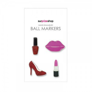 Ball Marker Set Girly Glam