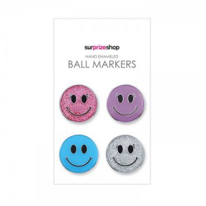 Ball Marker Set Smiley