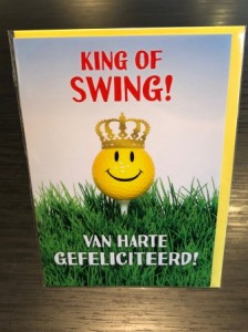 King of Swing! Van harte gefeliciteerd!