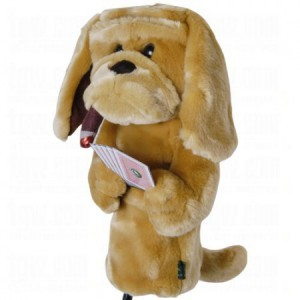 Headcover Poker Playing Hond 20675